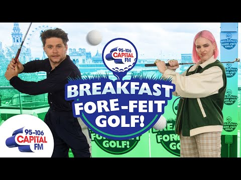 Anne-Marie and Niall Horan Take On FORE-feit Golf! ⛳️ | Capital