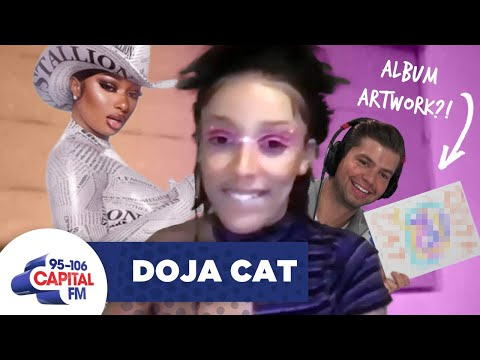 Doja Cat Confirms Megan Thee Stallion Collab And Planet Her Artwork?! 👀 | Capital