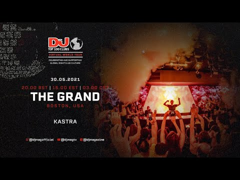 Kastra set for The Grand, Boston as part of the #Top100Clubs Virtual World Tour
