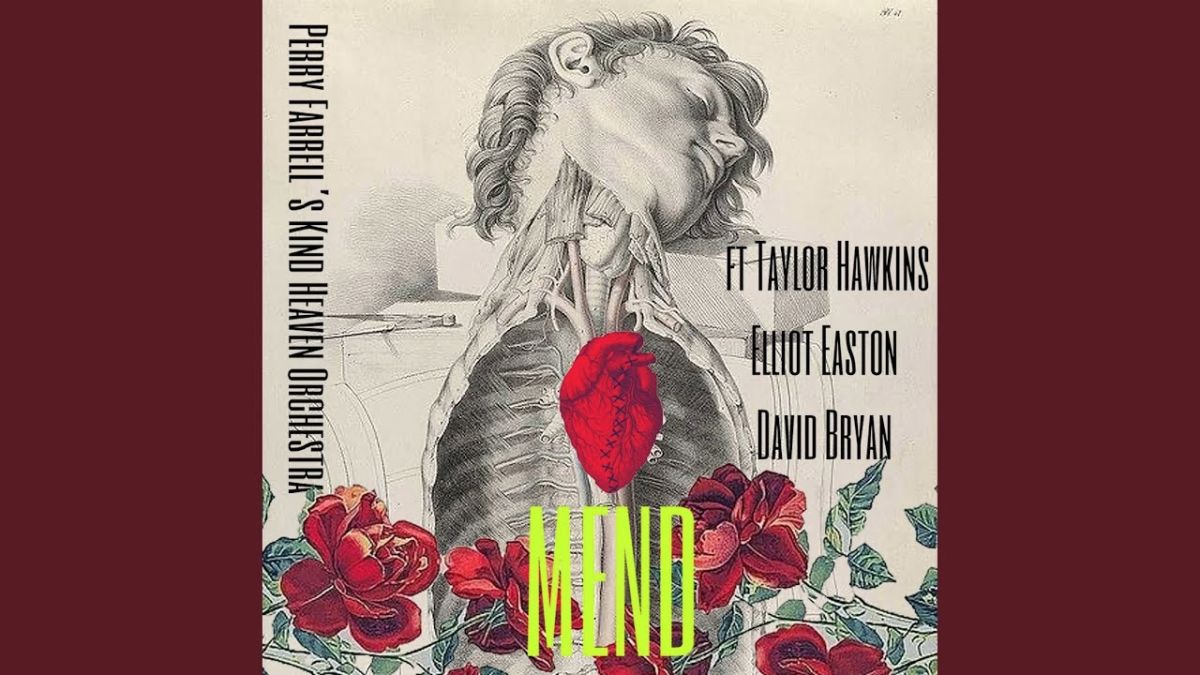 Perry Farrell teams up with Foo Fighters' Taylor Hawkins for Kind Heaven Orchestra song, Mend