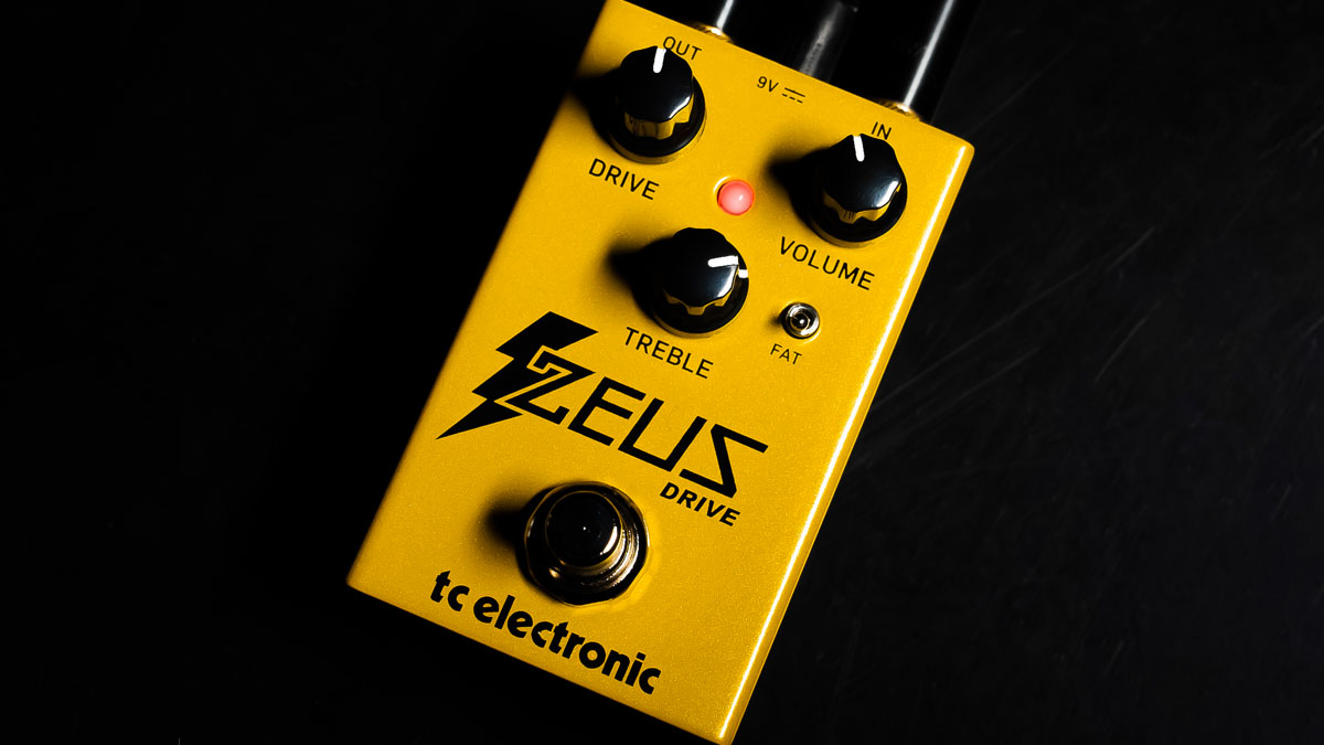 """TC Electronic reaches up to the heavens to bring us the Zeus Drive – """"a golden chalice among overdrive pedals"""""""