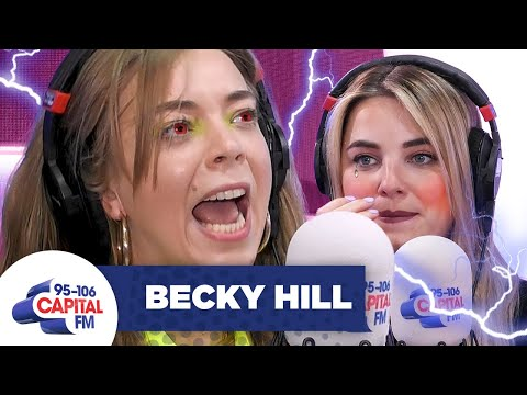 Becky Hill Gives Sian Welby The Interview From HELL! 😈   Capital