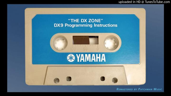 DX Zone: Forgotten Synth Programming Cassettes