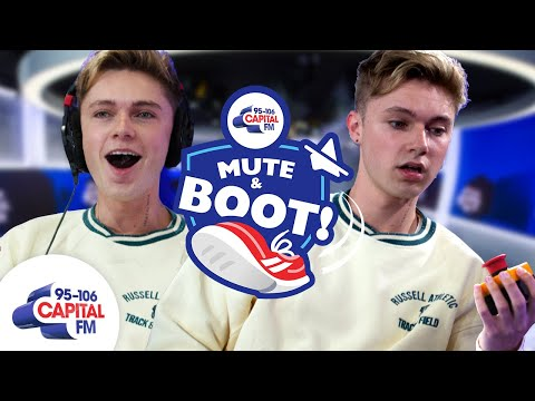 HRVY Refuses To Answer Kissing Question About Maisie Smith & Loren Gray 🤐   Mute & Boot   Capital