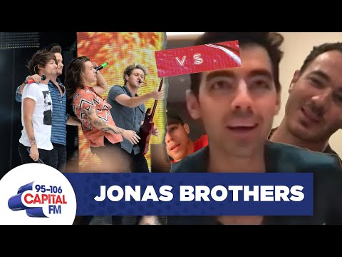Jonas Brothers Contemplate Who's Superior: Them Or One Direction? 🤔 | Capital