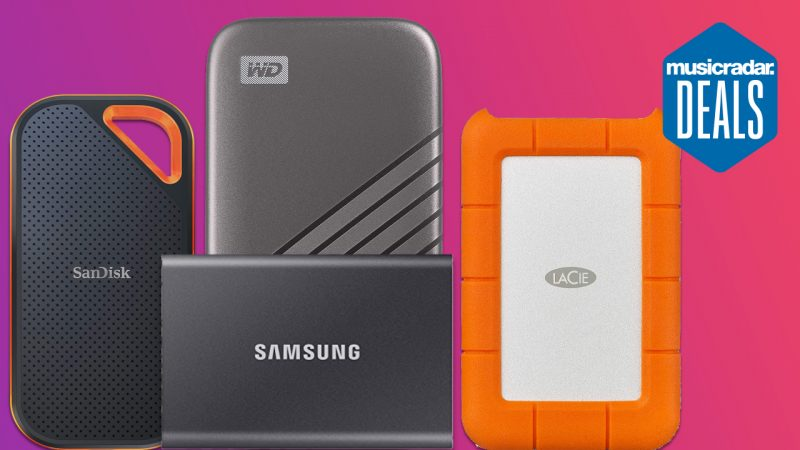 Never run out of space with massive Prime Day savings on external SSDs and storage devices