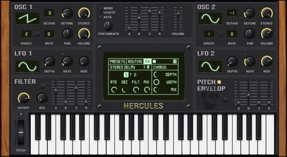 New free synth plugin Hercules V2 is perfect for beginner producers