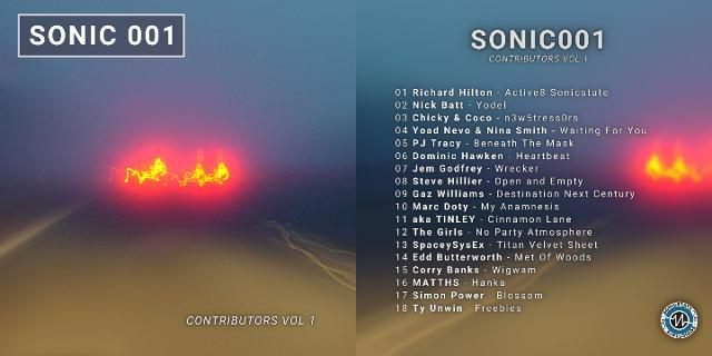 Out Today! SONIC 001 – 18 Tracks From Our Contributors