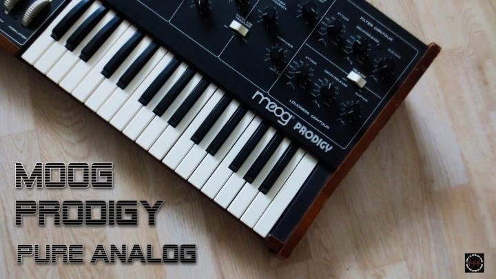 Raw Sounds Of The Moog Prodigy