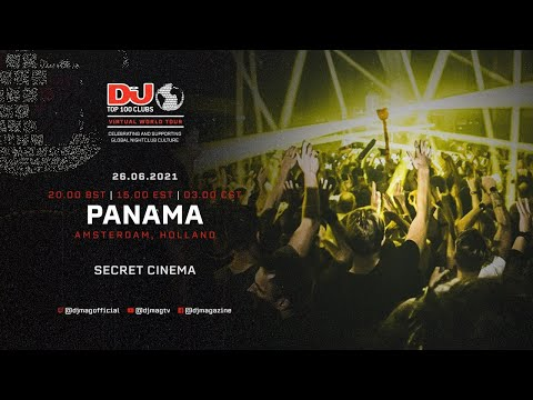 Secret Cinema Live For Panama, Amsterdam as part of the #Top100Clubs Virtual World Tour
