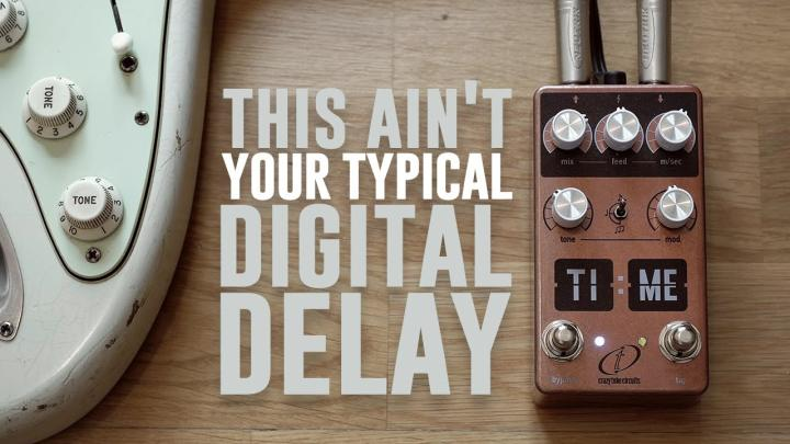 Stompbox Based On The First Digital Delays