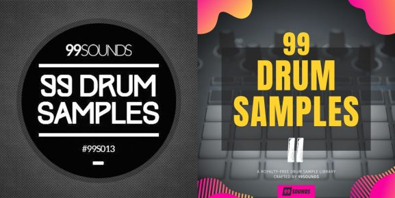 99 Drum Samples I and II are currently free from 99Sounds