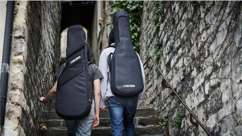 Boss will help you take better care of your guitar with its new line of deluxe gig-bags