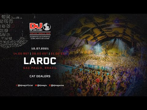 Cat Dealers set for Laroc, Brazil as part of the #Top100Clubs Virtual World Tour