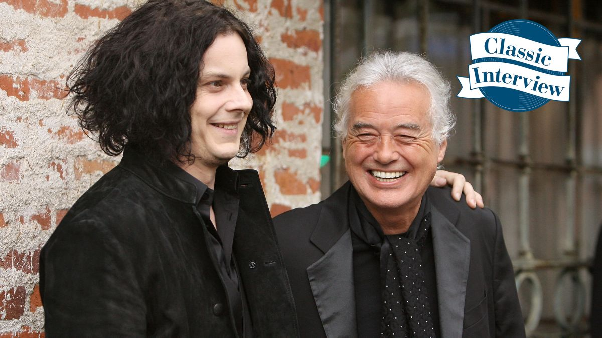 """Classic interview: Jimmy Page and Jack White – """"Starting with a top-of-the-line guitar won't facilitate anything"""""""