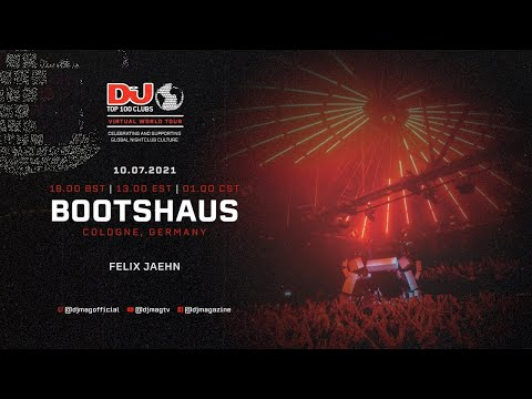 Felix Jaehn set for Bootshaus, Germany as part of the #Top100Clubs Virtual World Tour