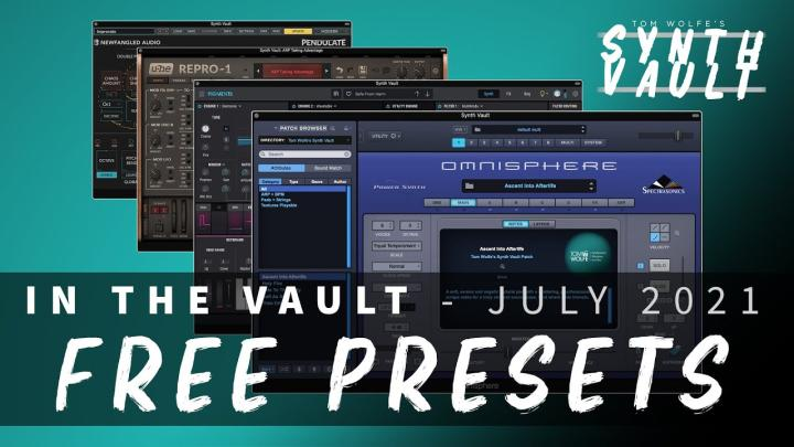 Free Monthly Synth Presets