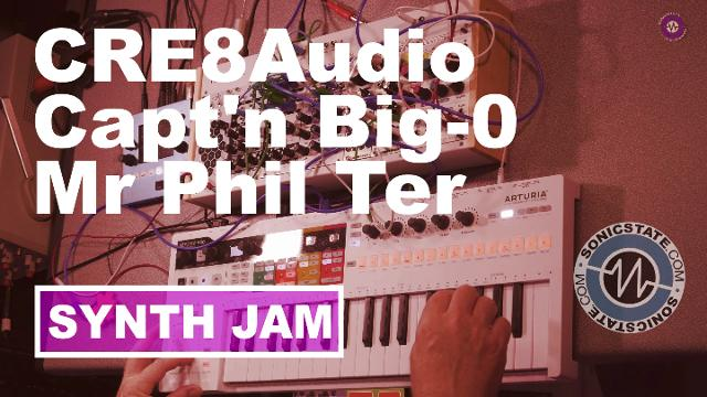 Friday Fun – Cre8 Audio Capt'n Big-O, Mr Phil Ter and Clouds