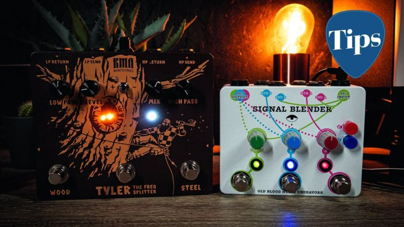 How to experiment with your effects pedal signal chain
