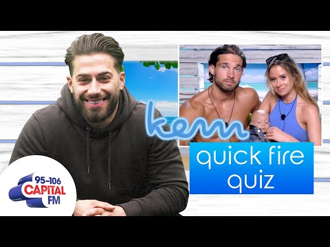 Kem Cetinay Can't Name Love Island Camilla & Jamie's Baby   Quick Fire Quiz   Capital