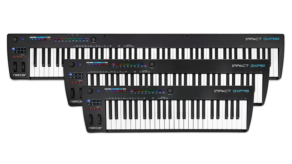 Nektar squeezes more out of its GXP MIDI keyboard range with new 49- and 61-note models