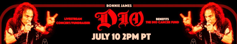 The STAND UP AND SHOUT FOR RONNIE JAMES DIO'S BIRTHDAY is Tomorrow, 7.10.2021, 2 pm PDT