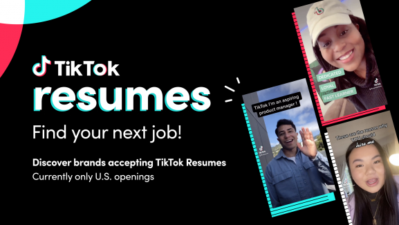 TikTok Resumes is a modern video approach to job applications