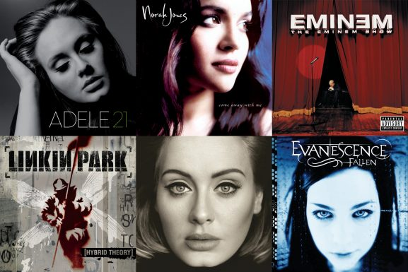 Top 13 best-selling albums of the 21st century