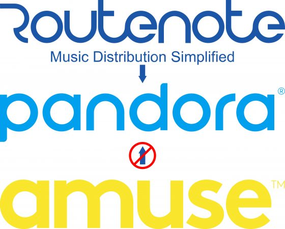 Why does Amuse not distribute to Pandora?