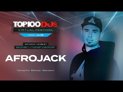 Afrojack live for the #Top100DJs Virtual Festival, in aid of Unicef