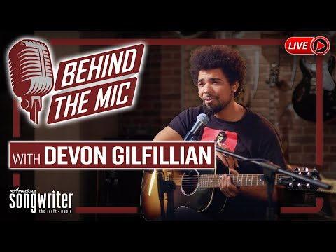 Behind the Mic Live at the Gibson Garage with Devon Gilfillian