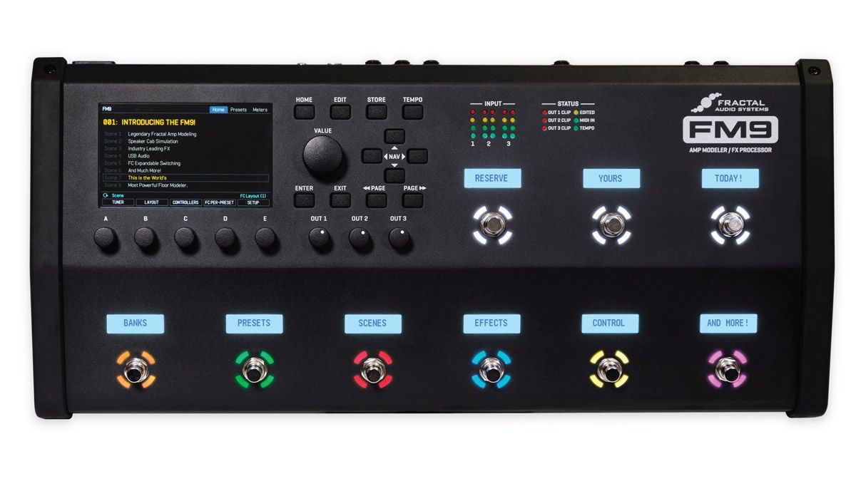 """Fractal ups its floor game with the FM9 – the amp modelling giant's """"most powerful floor unit ever"""""""