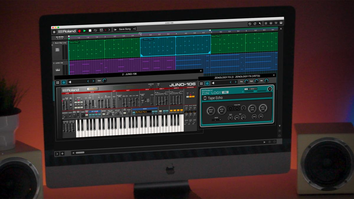 Get more than 90 classic Roland effects for free until the end of 2021 with the Zenology FX plugin