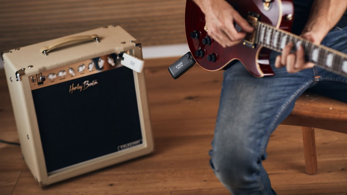 Harley Benton's £58/€68 wireless system could free your guitar or bass from cables