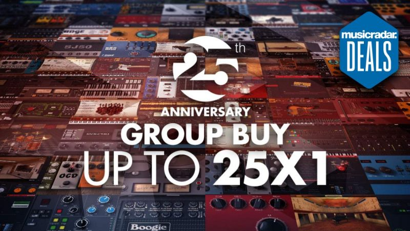 IK Multimedia's insane software deal could get you 25 plugins for the price of 1