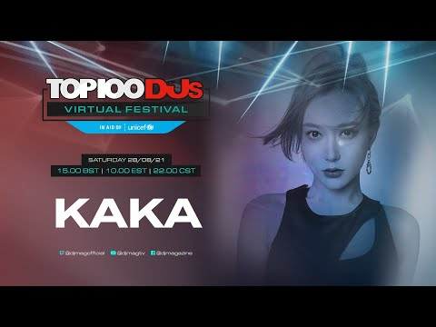 KAKA live for the #Top100DJs Virtual Festival, in aid of Unicef