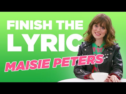 Maisie Peters Covers Ed Sheeran, Taylor Swift & More | Finish The Lyric | Capital