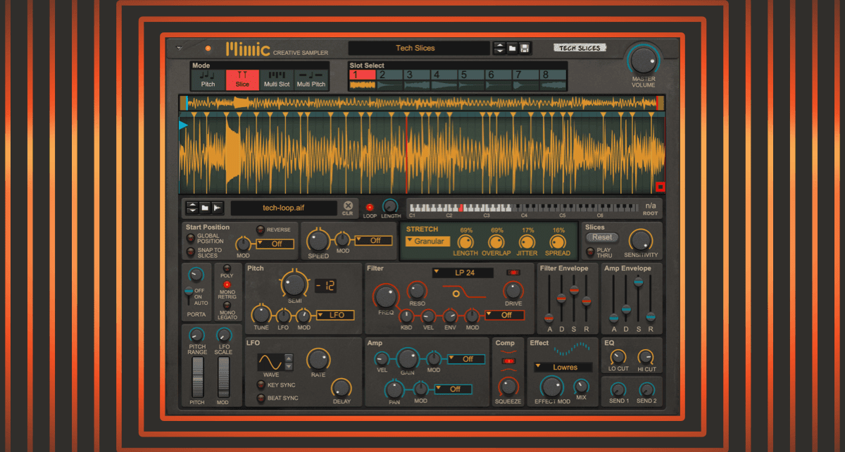 Reason's Mimic Creative Sampler lets you take sampling to another dimension