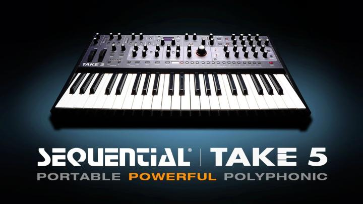 Sequential Announce The Take 5 Portable Polysynth