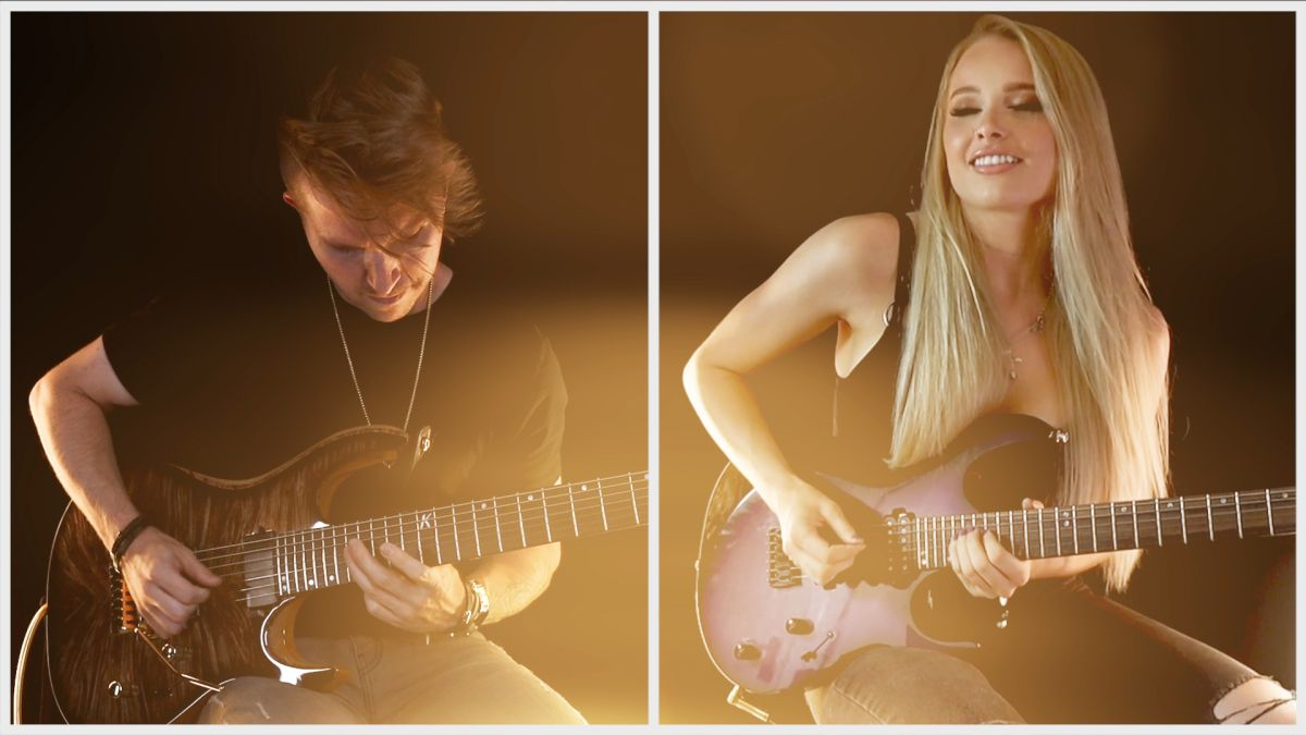 Sophie Lloyd and Cole Rolland take classical rock to a level with their guitar version of Beethoven's 5th Symphony