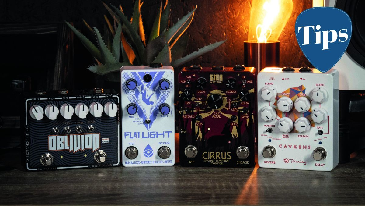 Why it's good to own two of the same type of guitar effects pedal