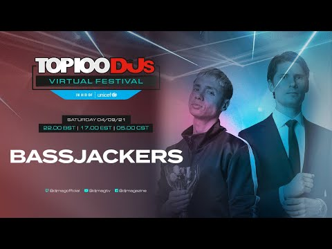 Bassjackers live for the #Top100DJs Virtual Festival, in aid of Unicef