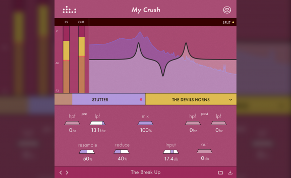 Bitcrusher 'My Crush' is free for all 'denise' newsletter subscribers