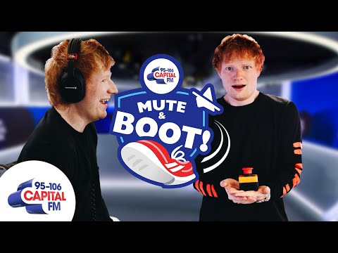 Ed Sheeran Stole WHAT From Stormzy & Courteney Cox? 😵💫 | Mute & Boot | Capital