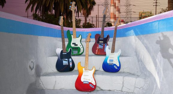 Fender introduce their new Player Plus Series of electric guitars and basses