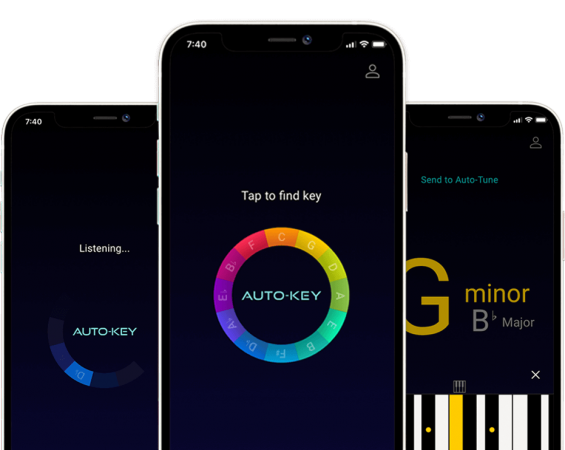 Find the key of any song with this free app from the makers of Auto-Tune