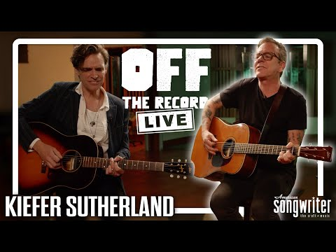 Kiefer Sutherland LIVE Performances and Interview | Off The Record LIVE
