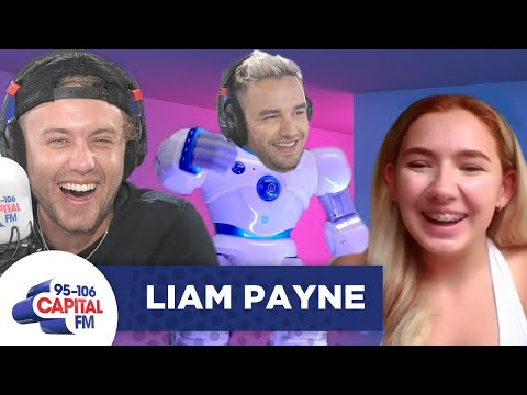 Liam Payne Surprises A Fan (Disguised As A Robot!) 🤖 | Capital