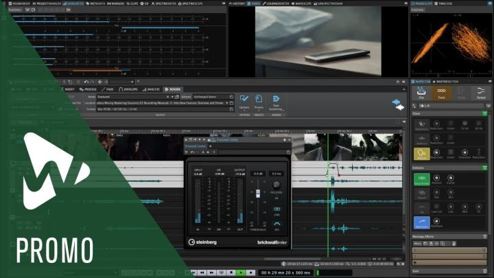 New Versions Of WaveLab Mastering Software