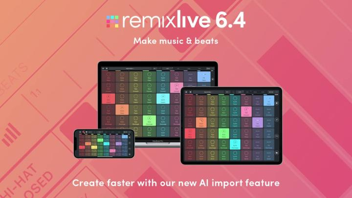 Remixlive Updated With New AI Features